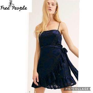 Free People Intimates size XS Olivia Velvet slip